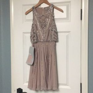 NWT ASOS delicate sequin dress with full skirt